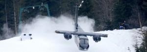 007 Flugzeug Szene