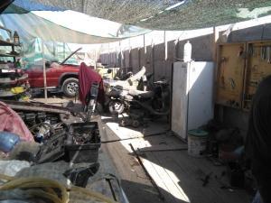 108 0056 Chile - Arica - Oscars Werkstatt
