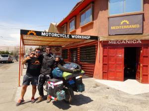 108 0290 Chile - Arica - Mech.Mediterraneo