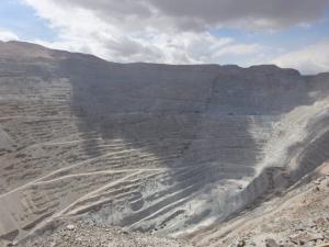 110 0027 Chile - Calama - Kupfermiene Chuquicamata