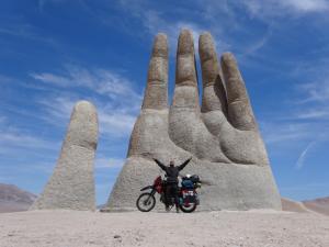 113 0019 Chile - Fahrt nach Bahia Inglesa - Mano del Desierto