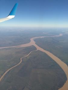 121 0010 Argentina - Flug nach Buenos Aires