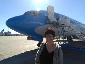 121 0017 Argentina - Flug nach Buenos Aires