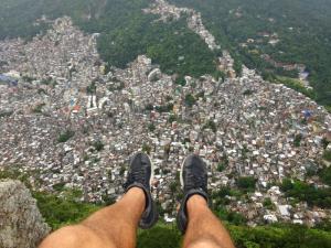 137 0277 Brasil - Rio - Dois Irmaos - Rocinha