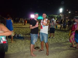137 0308 Brasil - Rio - Copa Cabana - Sambaparty