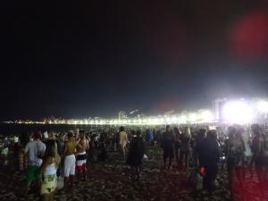 137 0312 Brasil - Rio - Copa Cabana - Sambaparty