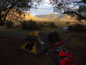 148 0045 Argentina - Fahrt nach PN Perito Moreno