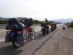 155 006 Chile - Fahrt nach Tongoy