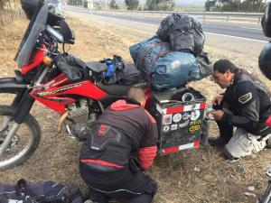 155 011 Chile - Fahrt nach Tongoy