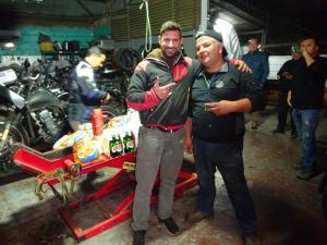 157 011 Chile - Santiago - Johnny Moto