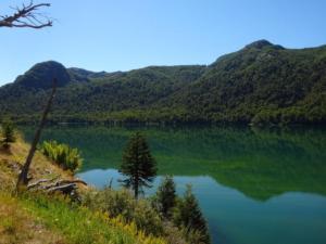 165 0008 Chile - Fahrt nach Aluminé - Argentina - Lago Quillelhue