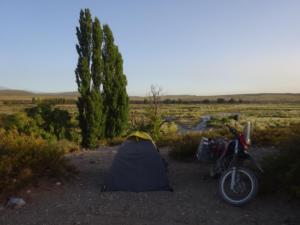 165 0135 Argentina - Malargüe - Wild Camping