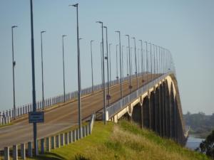 184 0003 Uruguay- Fahrt nach Argentina - Puente General San Martin